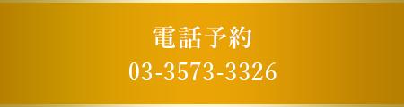 電話予約 03-3573-3326
